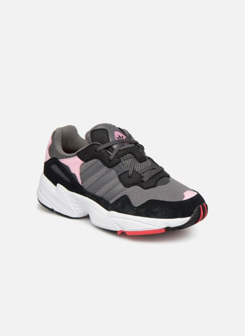 Sneakers adidas originals Yung-96 J Grå detaljeret billede af skoene
