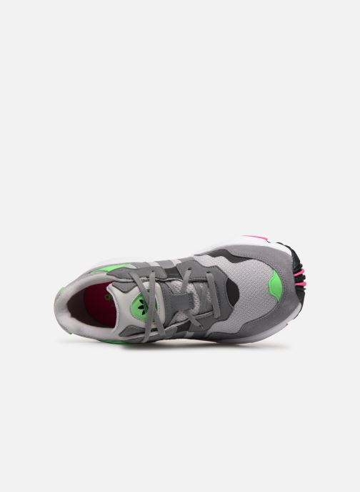 Sneaker adidas originals Yung-96 J grau ansicht von links