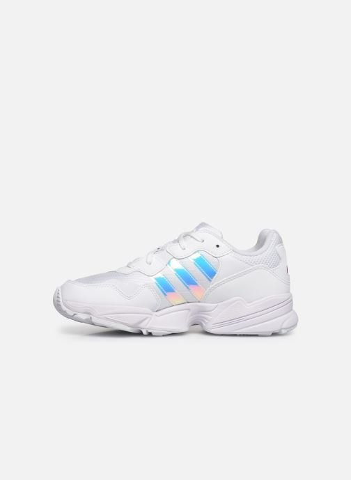 Sneakers adidas originals Yung-96 J Bianco immagine frontale