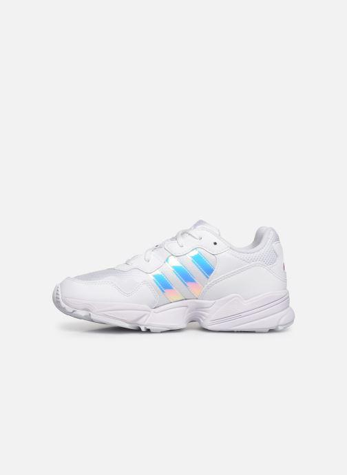 Sneaker adidas originals Yung-96 J weiß ansicht von vorne