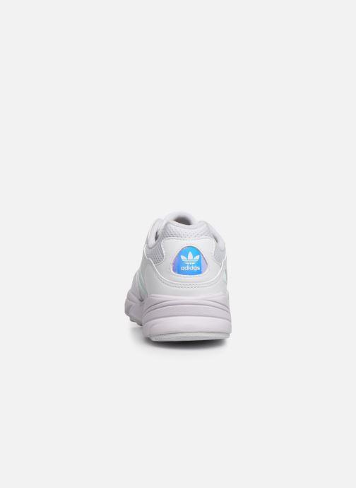 Baskets adidas originals Yung-96 J Blanc vue droite