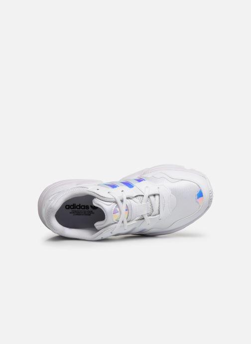 Baskets adidas originals Yung-96 J Blanc vue gauche