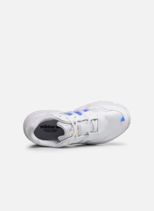 Sneakers adidas originals Yung-96 J Bianco immagine sinistra
