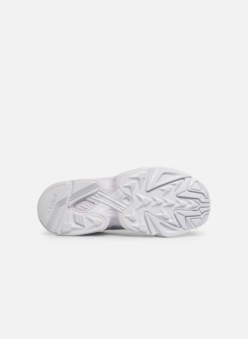 Baskets adidas originals Yung-96 J Blanc vue haut