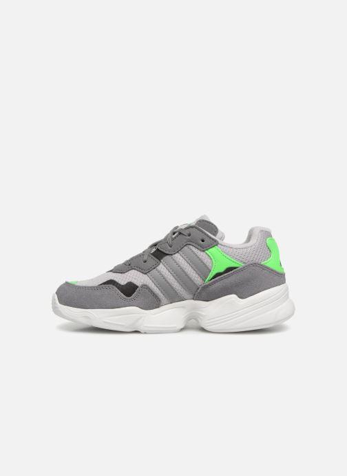 Sneakers adidas originals Yung-96 C Grijs voorkant