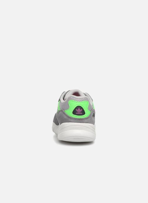 Sneakers adidas originals Yung-96 C Grijs rechts