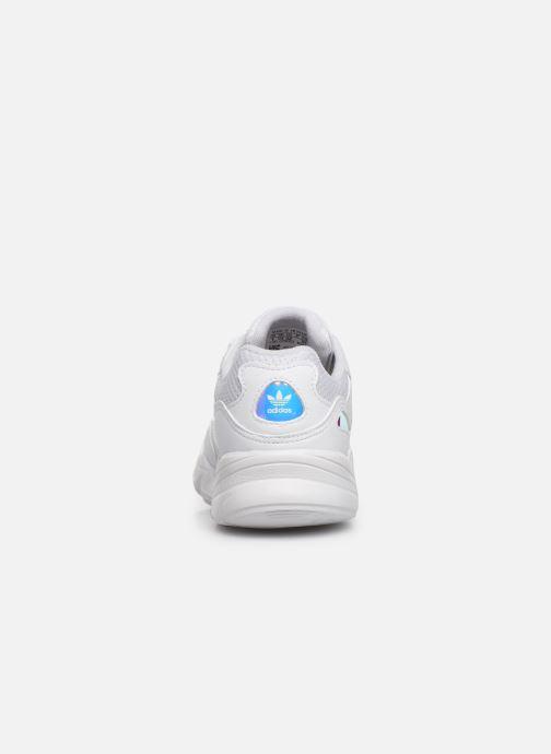 Sneakers adidas originals Yung-96 C Wit rechts