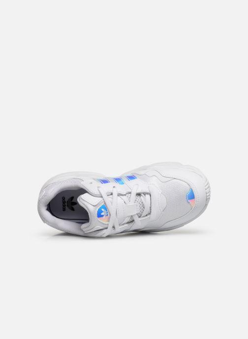Sneakers adidas originals Yung-96 C Hvid se fra venstre