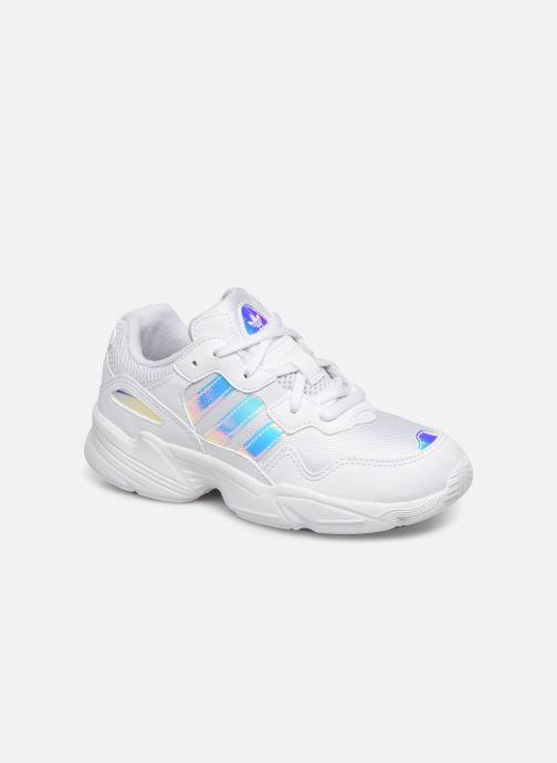 Sneakers adidas originals Yung-96 C Hvid detaljeret billede af skoene
