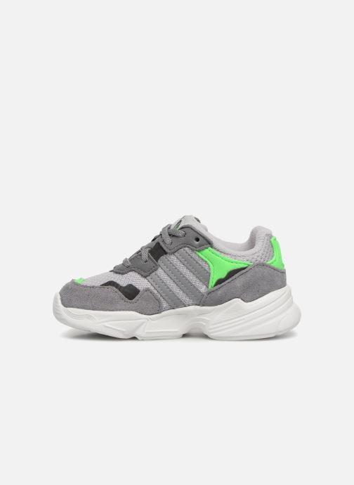 Sneakers adidas originals Yung-96 EL I Grijs voorkant