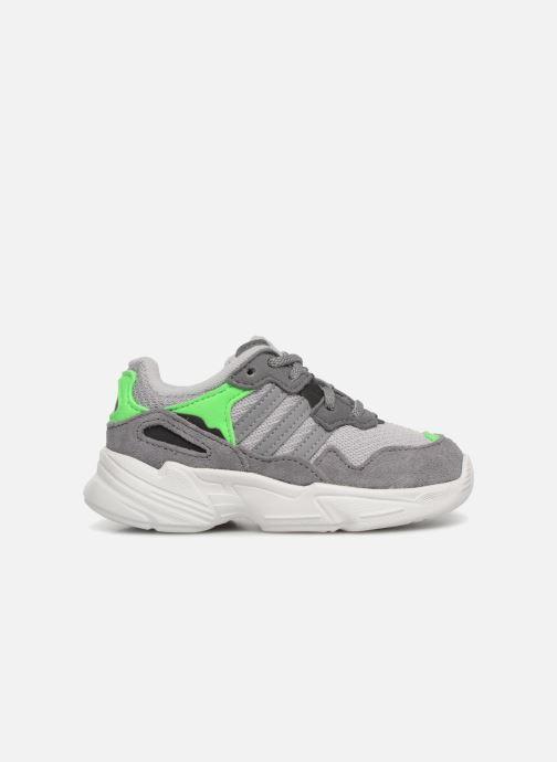 Sneakers adidas originals Yung-96 EL I Grijs achterkant