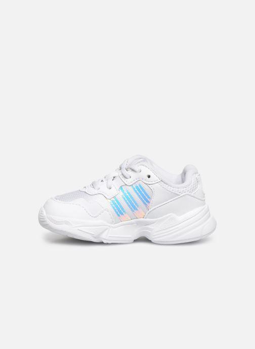 Baskets adidas originals Yung-96 EL I Blanc vue face