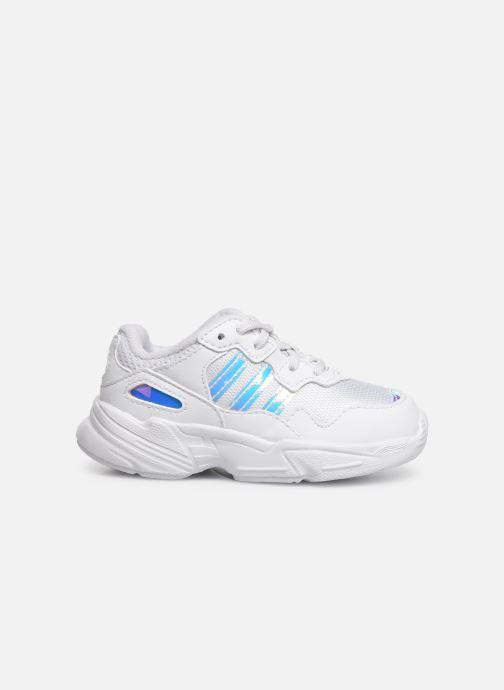 Baskets adidas originals Yung-96 EL I Blanc vue derrière