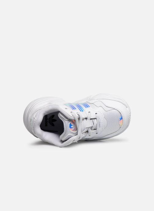 Baskets adidas originals Yung-96 EL I Blanc vue gauche