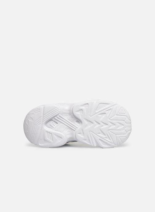Baskets adidas originals Yung-96 EL I Blanc vue haut