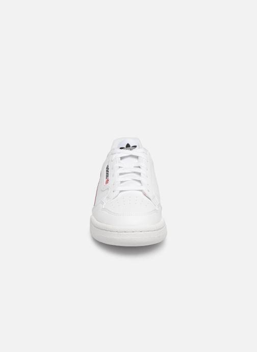 Baskets adidas originals Continental 80 J Blanc vue portées chaussures
