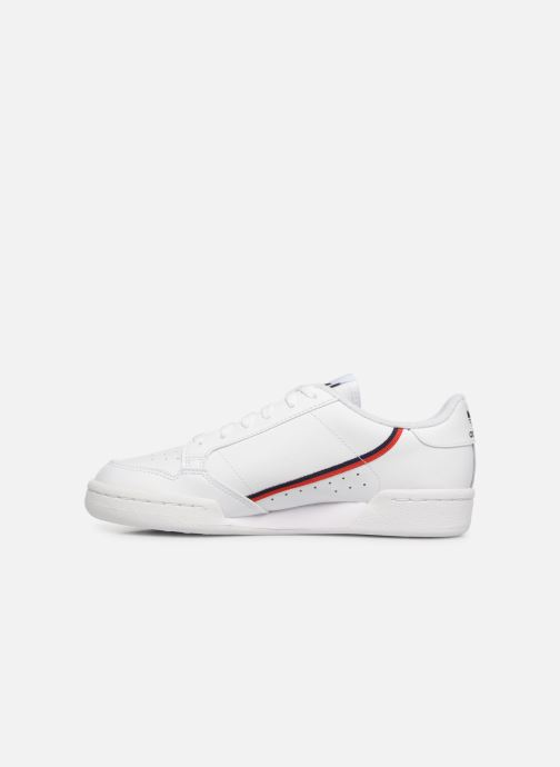 Baskets adidas originals Continental 80 J Blanc vue face