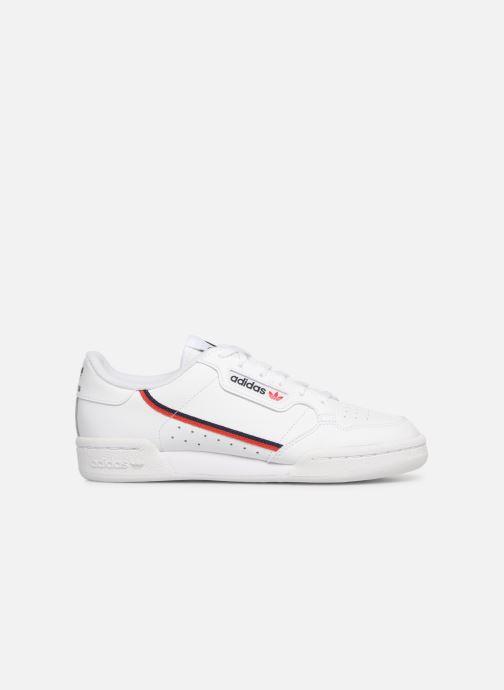 Baskets adidas originals Continental 80 J Blanc vue derrière