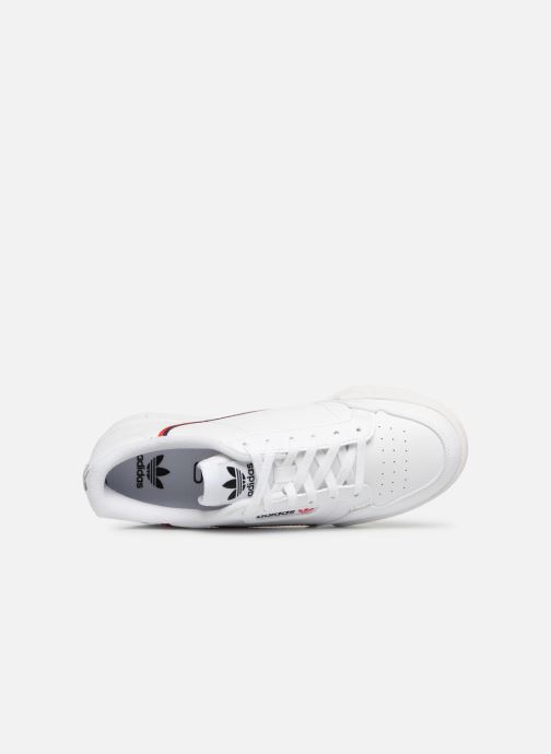 Baskets Adidas Originals Continental 80 J Blanc vue gauche