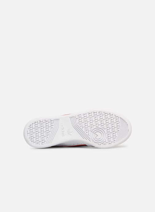 Baskets adidas originals Continental 80 J Blanc vue haut