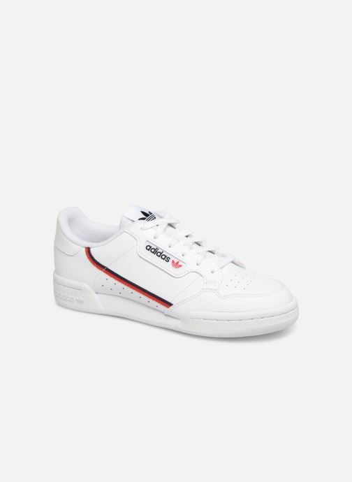 adidas originals Continental 80 J (Blanc) - Baskets chez ...