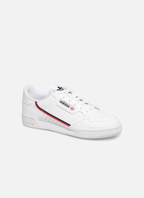 size 40 6d877 91483 Baskets adidas originals Continental 80 J Blanc vue détailpaire