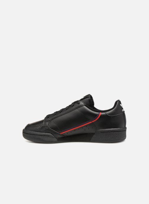 Sneakers adidas originals Continental 80 J Zwart voorkant
