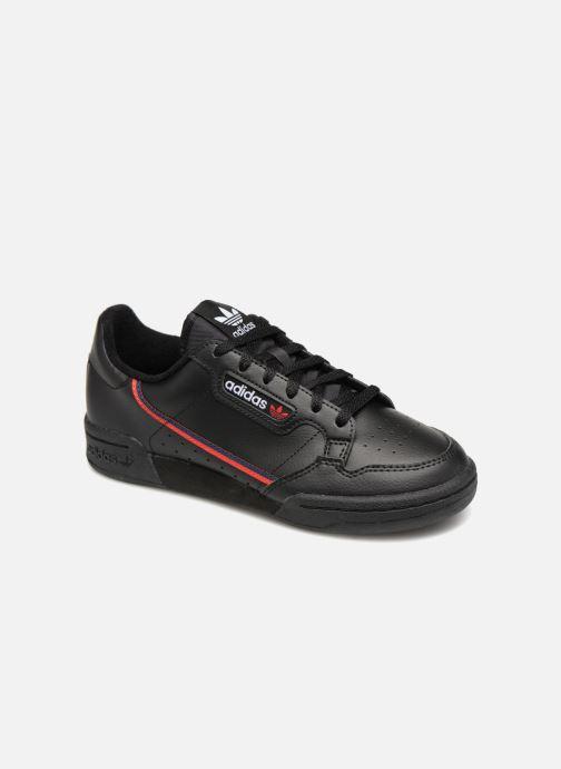 Baskets Adidas Originals Continental 80 J Noir vue détail/paire