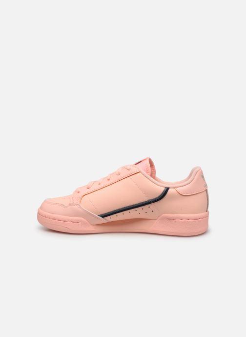 Baskets adidas originals Continental 80 J Orange vue face