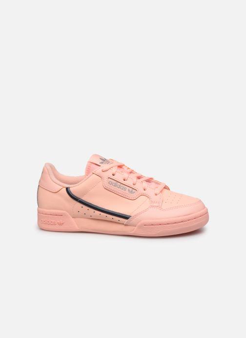Sneaker adidas originals Continental 80 J orange ansicht von hinten