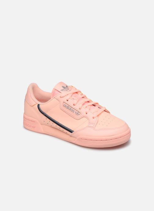 Sneaker adidas originals Continental 80 J orange detaillierte ansicht/modell