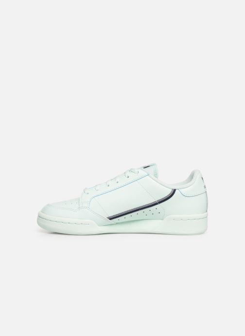 Sneaker adidas originals Continental 80 J blau ansicht von vorne