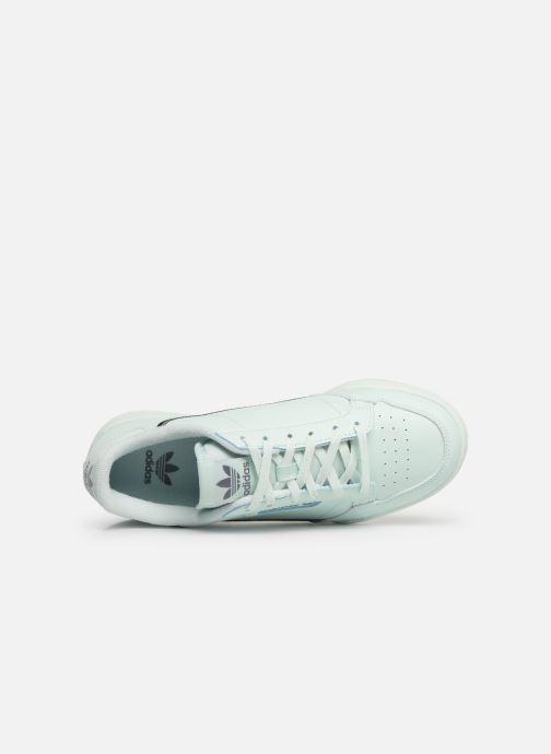 Baskets adidas originals Continental 80 J Bleu vue gauche
