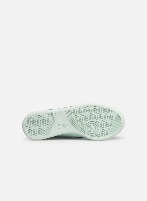 Sneakers adidas originals Continental 80 J Blauw boven