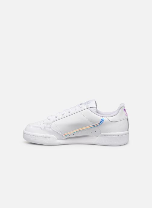 Sneakers adidas originals Continental 80 J Wit voorkant