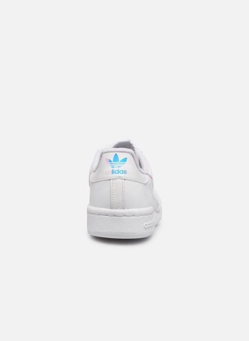 Sneakers adidas originals Continental 80 J Bianco immagine destra