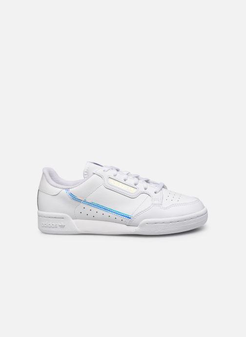Sneakers adidas originals Continental 80 J Wit achterkant