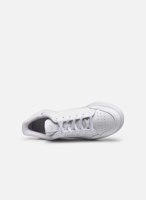 Sneakers adidas originals Continental 80 J Bianco immagine sinistra