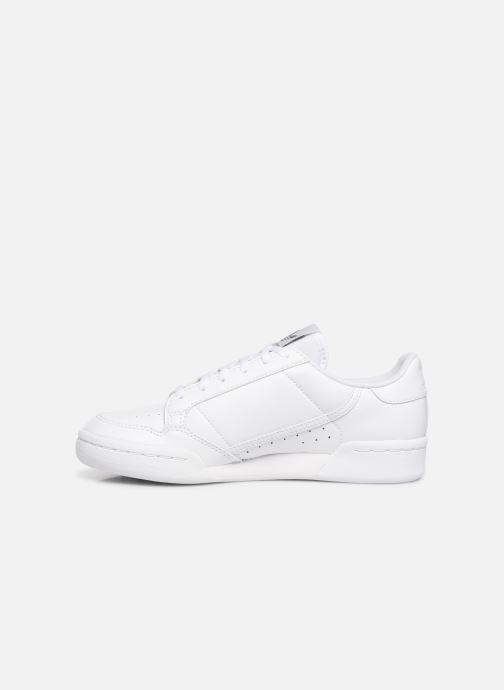 Sneaker adidas originals Continental 80 J weiß ansicht von vorne