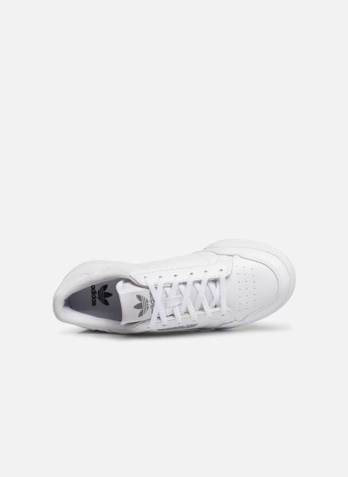 Sneakers adidas originals Continental 80 J Wit links