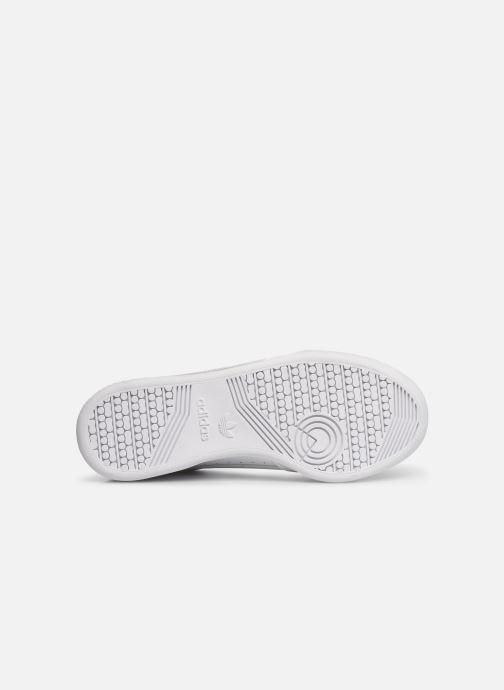 Baskets adidas originals Continental 80 J Blanc vue haut