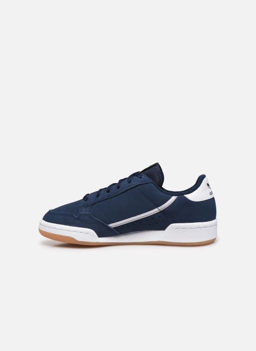Sneakers adidas originals Continental 80 J Blauw voorkant