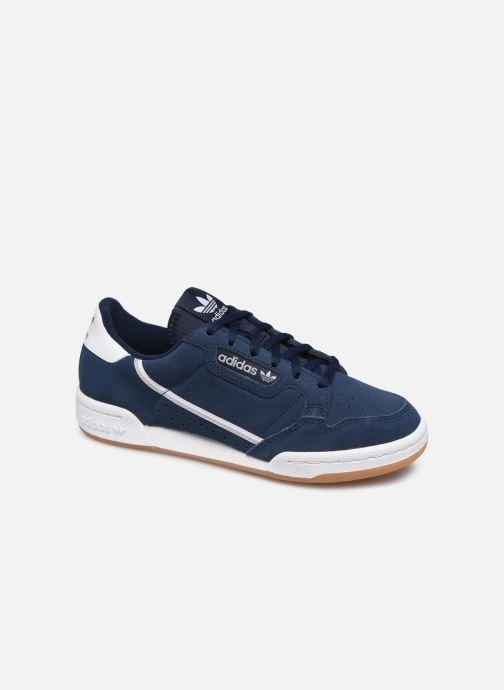 Sneaker adidas originals Continental 80 J blau detaillierte ansicht/modell