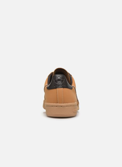 Deportivas adidas originals Continental 80 J Marrón vista lateral derecha