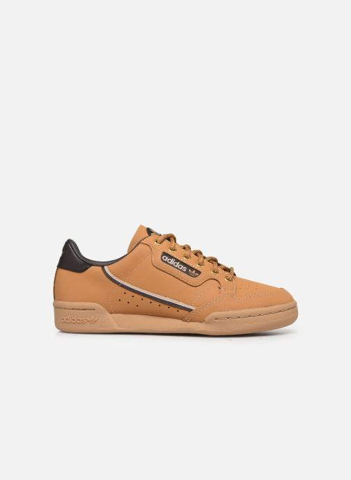 Trainers adidas originals Continental 80 J Brown back view