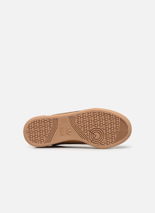 Sneakers adidas originals Continental 80 J Marrone immagine dall'alto