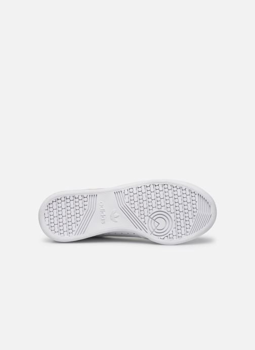 Sneaker adidas originals Continental 80 J weiß ansicht von oben
