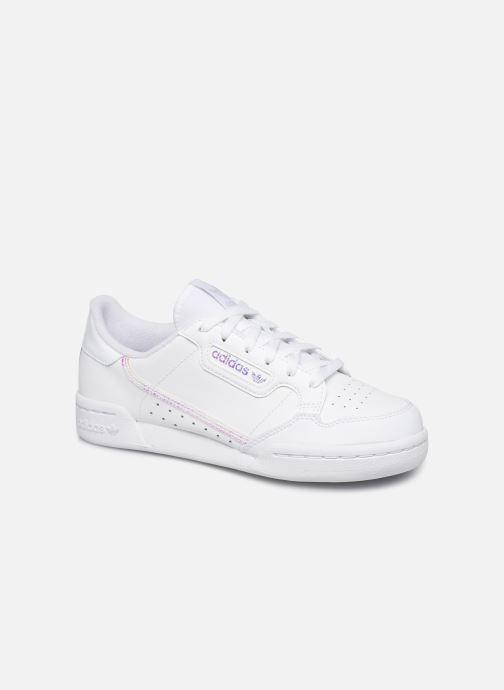 Sneaker adidas originals Continental 80 J weiß detaillierte ansicht/modell