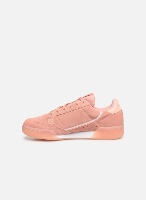 Baskets adidas originals Continental 80 J Rose vue face