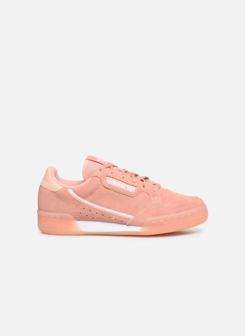 Baskets adidas originals Continental 80 J Rose vue derrière